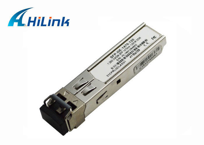1.25Gbps Single Mode Fiber SFP Optical Module CWDM-SFP-1470 For Gigabit Ethernet Switches